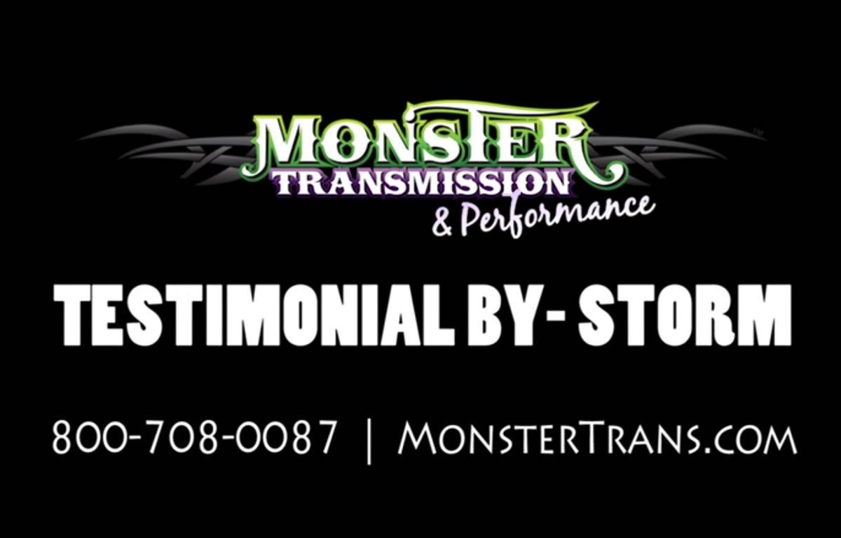 Monster Transmission Review by Storm Huffman