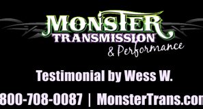 Monster Transmissions Review by Wess W